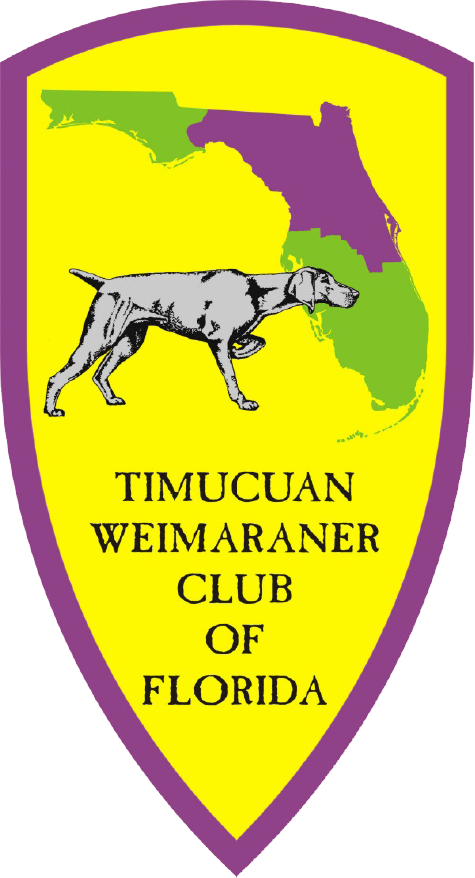 TIMUCUAN WEIMARANER CLUB OF FLORIDA Logo