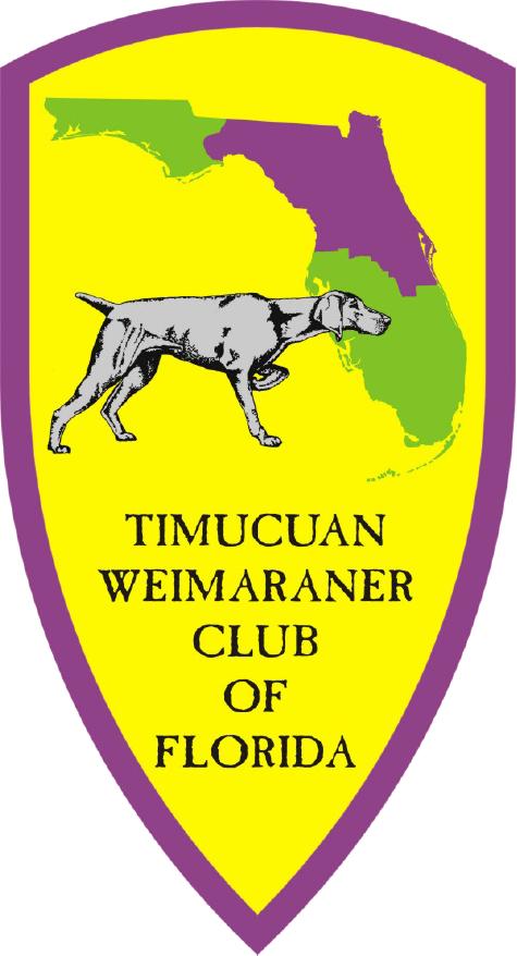 TIMUCUAN WEIMARANER CLUB OF FLORIDA Logo